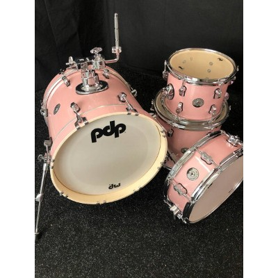 """pdp by DW PDNY1604/PR New Yorker Compact Kit 16"""",10"""",13"""",14"""" / Pale Rose Sparkle ドラムセット 入荷待ち"""