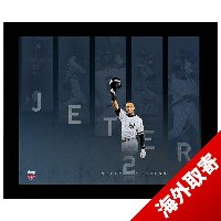 お取り寄せ MLB ヤンキース デレク・ジーター Sports Derek Jeter 14 Time All Star Steps to Success 16x20 Framed Collage