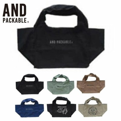 AND PACKABLE アンドパッカブル エコバッグ コンビニマルシェバッグ CONVENIENCE MARCHE BAG バッグ・鞄 エコバッグ エコバック コンビニ 買い物袋 サブバッグ