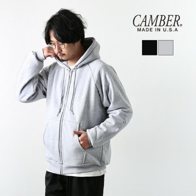 ▽[531]CAMBER (キャンバー)CILL-BUSTER/ジップパーカー qkEE[アウトレット 40%OFF]
