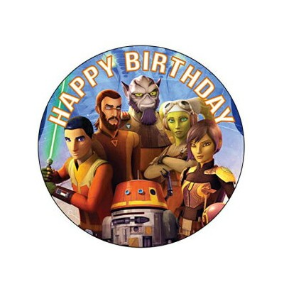 7.5 Inch Edible Cake Toppers – Stars Wars Rebels