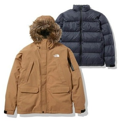 THE NORTH FACE THE NORTH FACE GRACE TRICLIMATE JACKET アトモスピンク コート/ジャケット コート/ジャケットその他 ブラウン【送料無料】