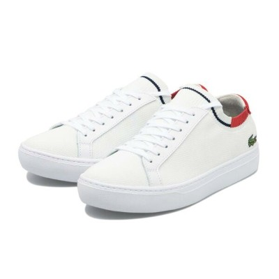 【LACOSTE】 ラコステ LA PIQUEE 120 1 ラ ピケ CMA023L 394 WHT/RED/NVY