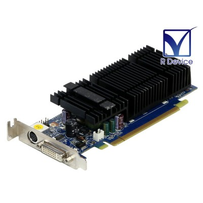 SPARKLE Computer GeForce 8400 GS 256MB DVI-I/TV-out PCI Express x16 LowProfile SFPX84GS【中古ビデオカード】