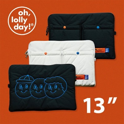 【NEW!】O,LD! X Sweetch Laptop pouch 13インチ oh, lolly day! 韓国 ブランド パソコンケース ノートパソコン ケース macbook pro...