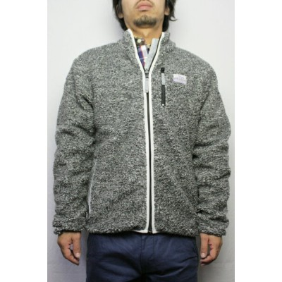 Reason Clothing (リーズン クロージング) SNOW ZIP FLEECE JACKET (COLOR:GRAY/3M) 【05P03Sep16】