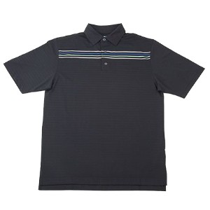 Vokey Design Solid Texture Chest Stripe Polo Shirts【ゴルフ ゴルフウェア>ポロ/長袖シャツ】
