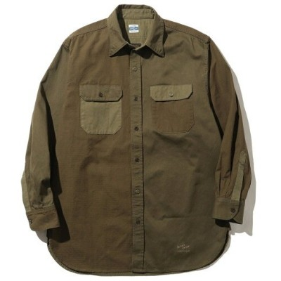 【SALE/30%OFF】 UNISEX ARMY TWILL * B:MING by BEAMS / 別注 クレイジーパターン ワイドシルエットシャツ B:MING by BEAMS ビーミング...