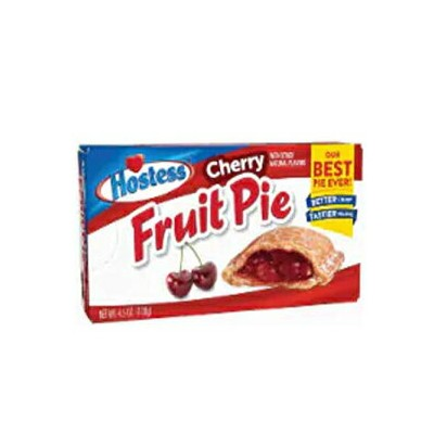 Hostess Cherry Fruit Pies 4.5 oz (Pack of 8)