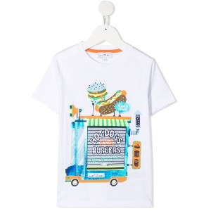 The Marc Jacobs Kids グラフィック Tシャツ - ホワイト