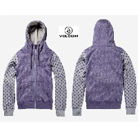 2015■VOLCOM GIRLS STONE DOT FLEECE■VLT■ボルコム■パーカー■