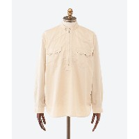 nonnative(Men)/ノンネイティブ  カジュアルシャツ RANCHER PULLOVER SHIRT RELAXED FIT COTTON SATIN NN S3810 BEIGE...