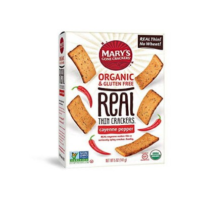 Mary's Gone Crackers Real Thin Crackers, Made with Real Organic Whole Ingredients, Gluten Free,...