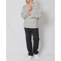 ENCENS(エンソン) マリンボーダーボートネックロングスリーブTee【BOAT NECK L/S TEE】