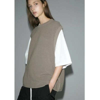 【SALE/50%OFF】BEAUTY & YOUTH UNITED ARROWS  monkey time  COTTON AZE CROPPED VEST/クロップドベスト ユナイテッドアローズ...