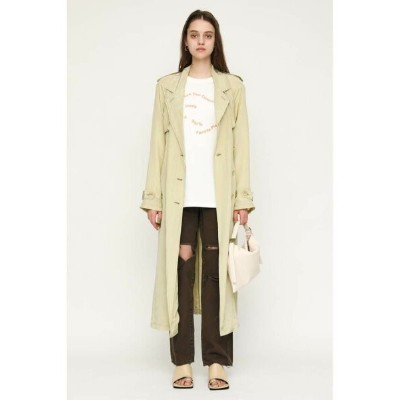 【SALE/40%OFF】SLY AURORA SHEER TRENCH コート スライ コート/ジャケット コート/ジャケットその他 グリーン ホワイト【送料無料】