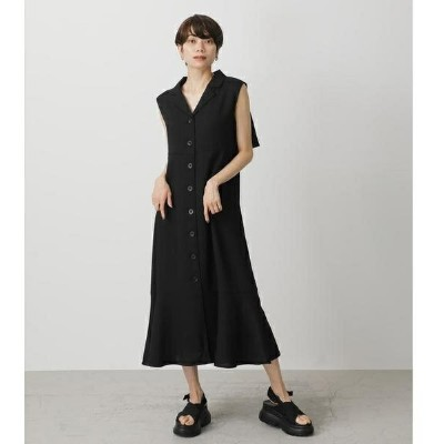 OPEN COLLAR GILET ONEPIECE/アズールバイマウジー