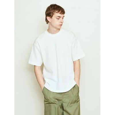 UNITED ARROWS & SONS UNITED ARROWS & SONS(ユナイテッドアローズ&サンズ)THERMAL TEE ユナイテッドアローズ カットソー Tシャツ ホワイト グレー...