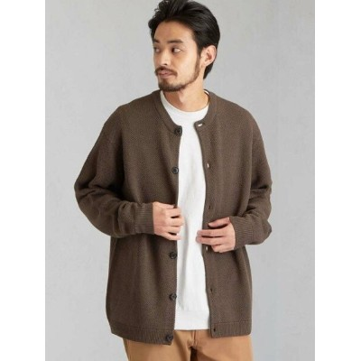 【SALE/66%OFF】UNITED ARROWS green label relaxing CM OUTLAST タック クルーカーディガン ユナイテッドアローズ アウトレット ニット...