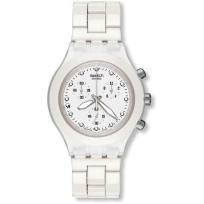 スウォッチ SWATCH DIAPHANE CHRONO FULL-BLOODED WHITE SVCK4045AG メンズ 腕時計・お取寄