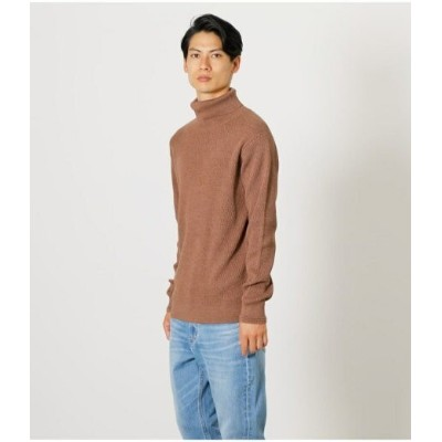【SALE/50%OFF】AZUL by moussy HONEYCOMB TURTLENECK KNIT アズールバイマウジー ニット ニットその他 ブラウン