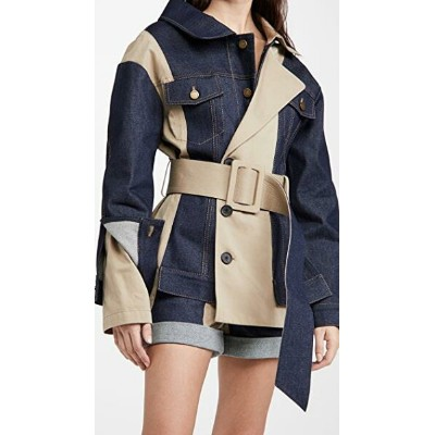Belted Trench and Denim Jacket レディース