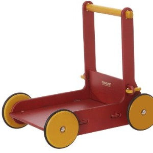 Moover Baby Walker 手押しぐるま(組立式) レッド Moover Toys