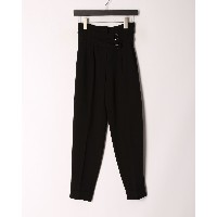 GUESS PROMISE TROUSERS○W0BB14WD2V0 ブラック パンツ