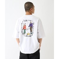【BASE CONTROL(ベースコントロール)】 MARK GONZALES マークゴンザレス 別注 グラフィックプリントTシャツ OUTLET > BASE CONTROL > トップス >...