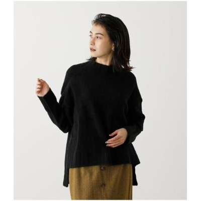 【SALE/50%OFF】AZUL by moussy SOFT TOUCH HIGH NECK KNIT アズールバイマウジー ニット ニットその他 ブラック ホワイト