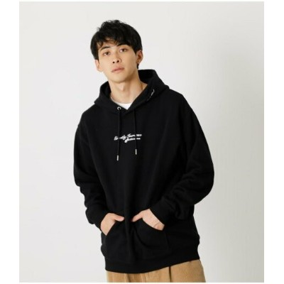 【SALE/50%OFF】AZUL by moussy GREATLY INCREASE HOODIES アズールバイマウジー カットソー パーカー ブラック ホワイト