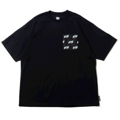 DC SHOES DC SHOES 21 15S WIDE HOTDOGGIN SS アトモスピンク カットソー Tシャツ ブラック【送料無料】