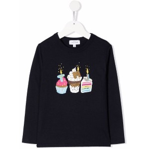 The Marc Jacobs Kids グラフィック Tシャツ - ブルー