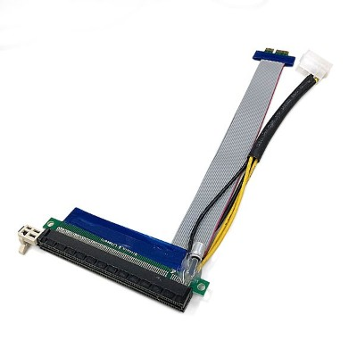 PCIE x1 to x16 変換延長ケーブル with 電源ケーブル