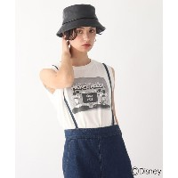 【AG by aquagirl(エージー バイ アクアガール)】 【ミッキー&フレンズ】グラフィックノースリT 限定アイテム OUTLET > AG by aquagirl > トップス >...