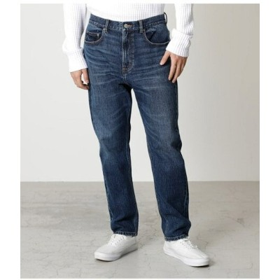 【SALE/50%OFF】AZUL by moussy USED WASH DAD TAPERED アズールバイマウジー パンツ/ジーンズ スキニージーンズ ブルー