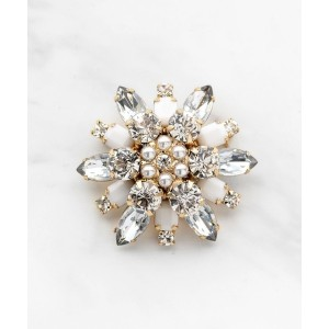 TOCCA NOBLE FLOWER BROOCH ブローチ