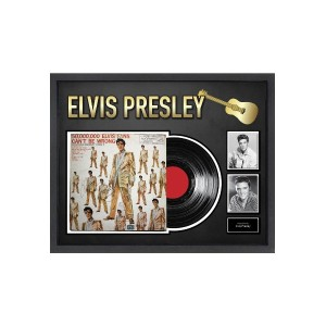 【60%OFF】Elvis Presley 50,000,000 Elvis Fans Can't Be Wrong 直筆サイン入 アルバムコラージュ