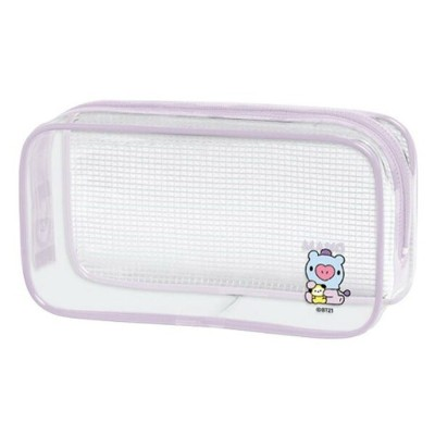 BT21 グッズ クリアBOXペンポーチ MANG LINE FRIENDS 028494