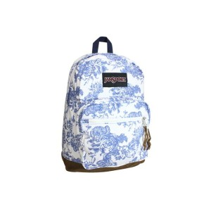 JANSPROT BACKPACK /TZR6 (RIGHT PACK EXPRESSIONS:Wht/Bluwsh/BrwSued)