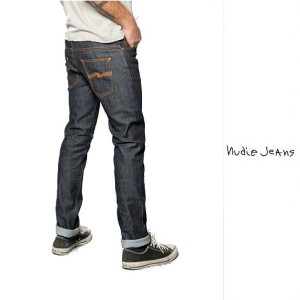 Nudie Jeans【THIN FINN】 スィンフィンThin fin Org Dry Twilllow yoke thin skinny legcolor:934 【 DRY Twill ...