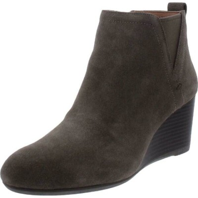 Vionic シューズ ブーティ Vionic Womens Paloma Suede Ankle Dressy Booties Shoes