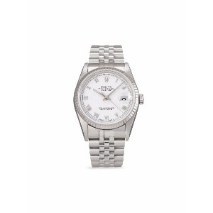 Rolex 1995 pre-owned Datejust 36mm - ホワイト