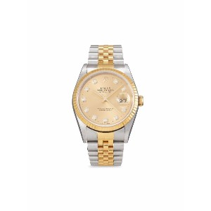 Rolex 2000 pre-owned Datejust 36mm - ゴールドトーン
