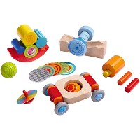 HABA ハバ社 木製 おもちゃ 知育玩具 ディスカバリーセット Discovery Set Round and Round
