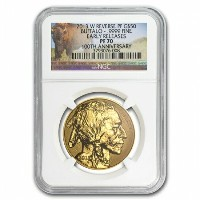 2013年 -W 1 oz バッファロー金貨 Reverse PF-70 NGC Early Releases