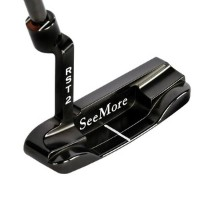 SeeMore mSeries Black Gunmetal DB4 Putters【ゴルフ ゴルフクラブ>パター】