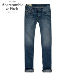 【15%OFFセール 4/21 10:00~4/24 09:59】 アバクロ Abercrombie&Fitch 正規品 メンズ ジーンズ A&F CLASSIC STRAIGHT JEANS...