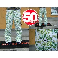09SPECIAL BLEND SNOWBOARD WEAR DUTCHESS PANT(WOMENS ELECTRA FIT) Green Flower Power 【S】【smtb-f】
