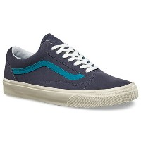 【バンズ シューズ】VANS Shoes OLD SKOOL (VINTAGE SUEDE) OMBRE BLUE●スニーカー スケシュー